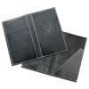 Leather Check Presenters or Bill holders with pocket and embossed logo for the restaurant