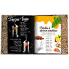bar menu for a restaurant or cafe in a cardboard cover with bolted mounting