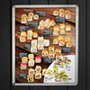 light box menu rolls led with click profile